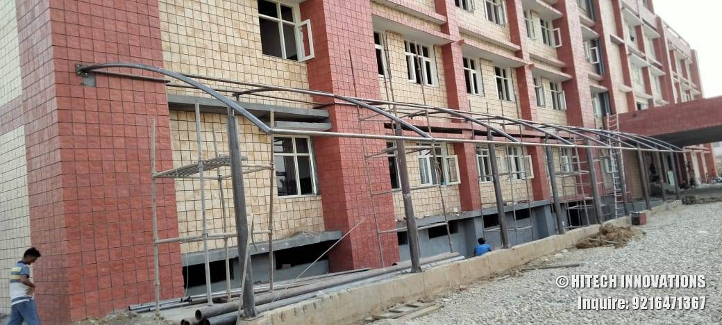 Pathway Tensile Structure Civil Hospital Ludhiana