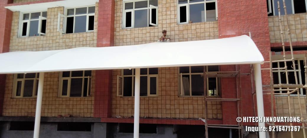 Manufacturing Tensile Pathway Shade Civil Hospital Ludhiana