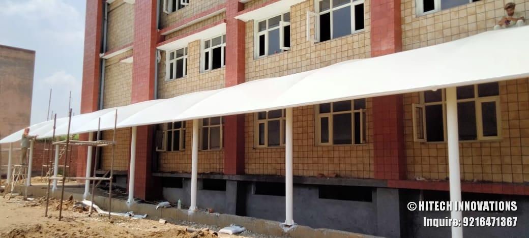 Tensile Pathway Shade Civil Hospital Ludhiana