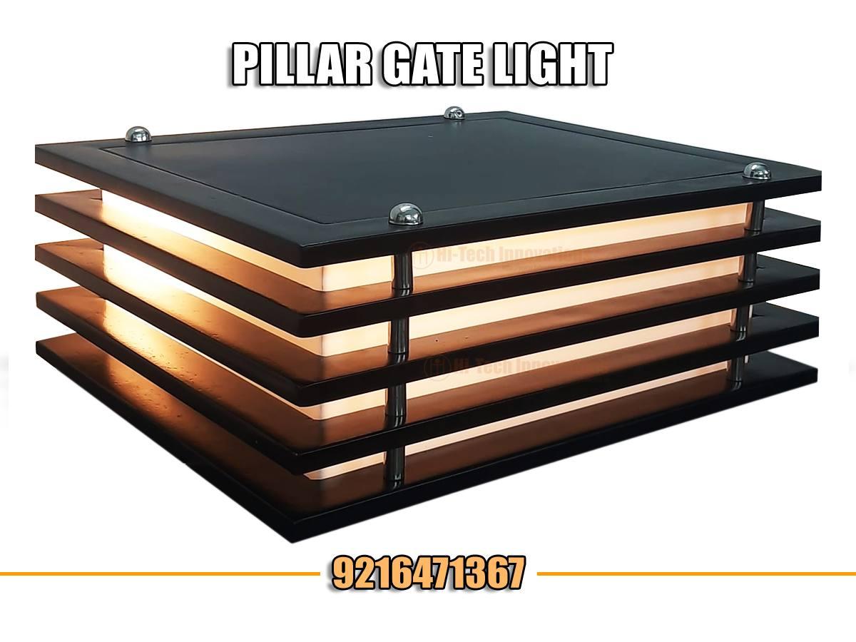Gate Pillar Light