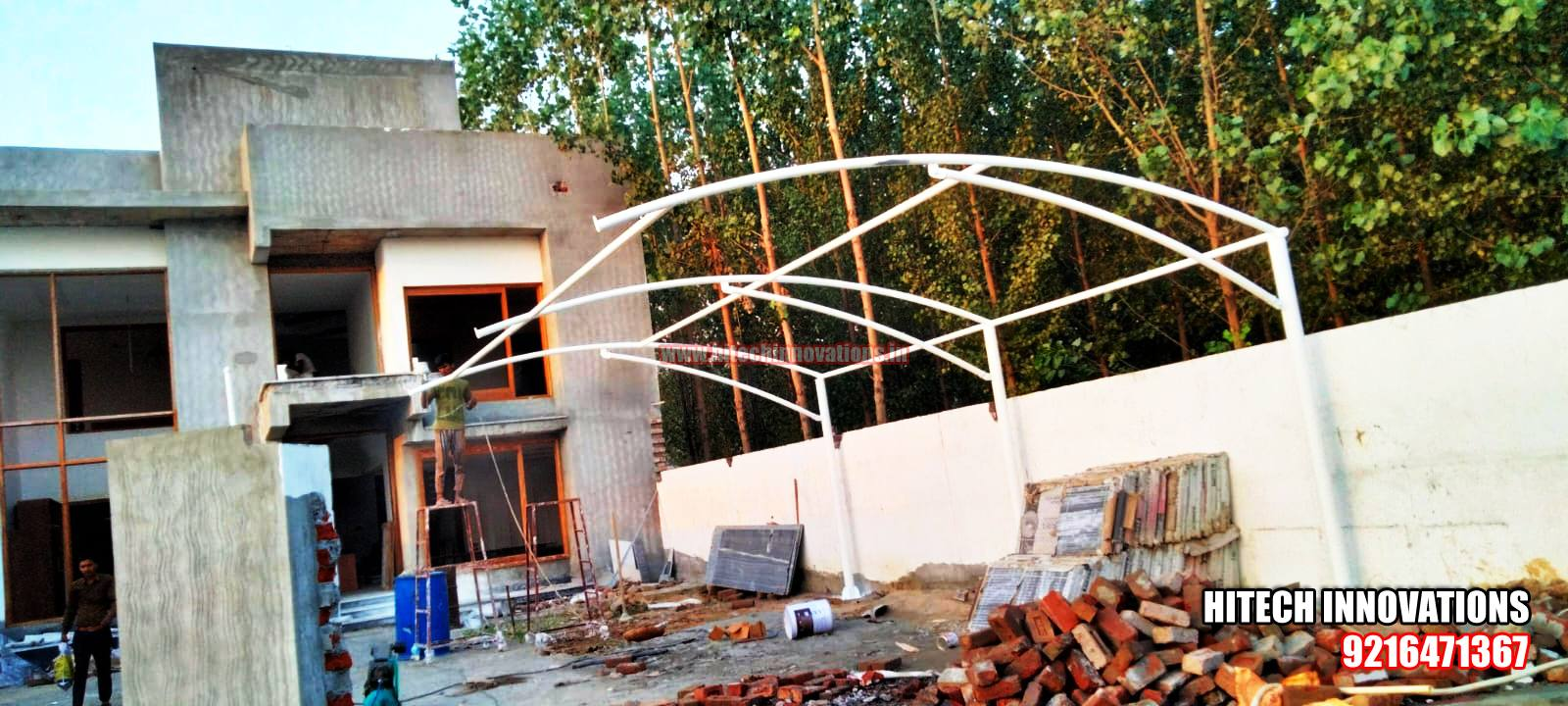 Multiple Car Shed in Jammu